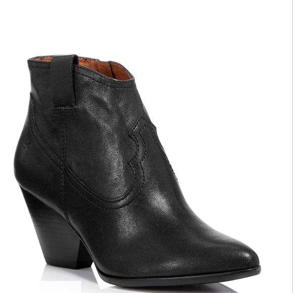 dd65368df14 Frye Shoes | Nwob Reina Black Leather Booties Boots | Poshmark